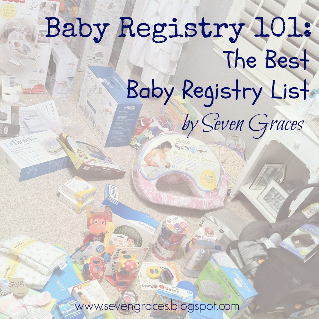 The Best Baby Registry Ever: Part 1, Baby Feeding (Also, a Cute Photo of My Baby)
