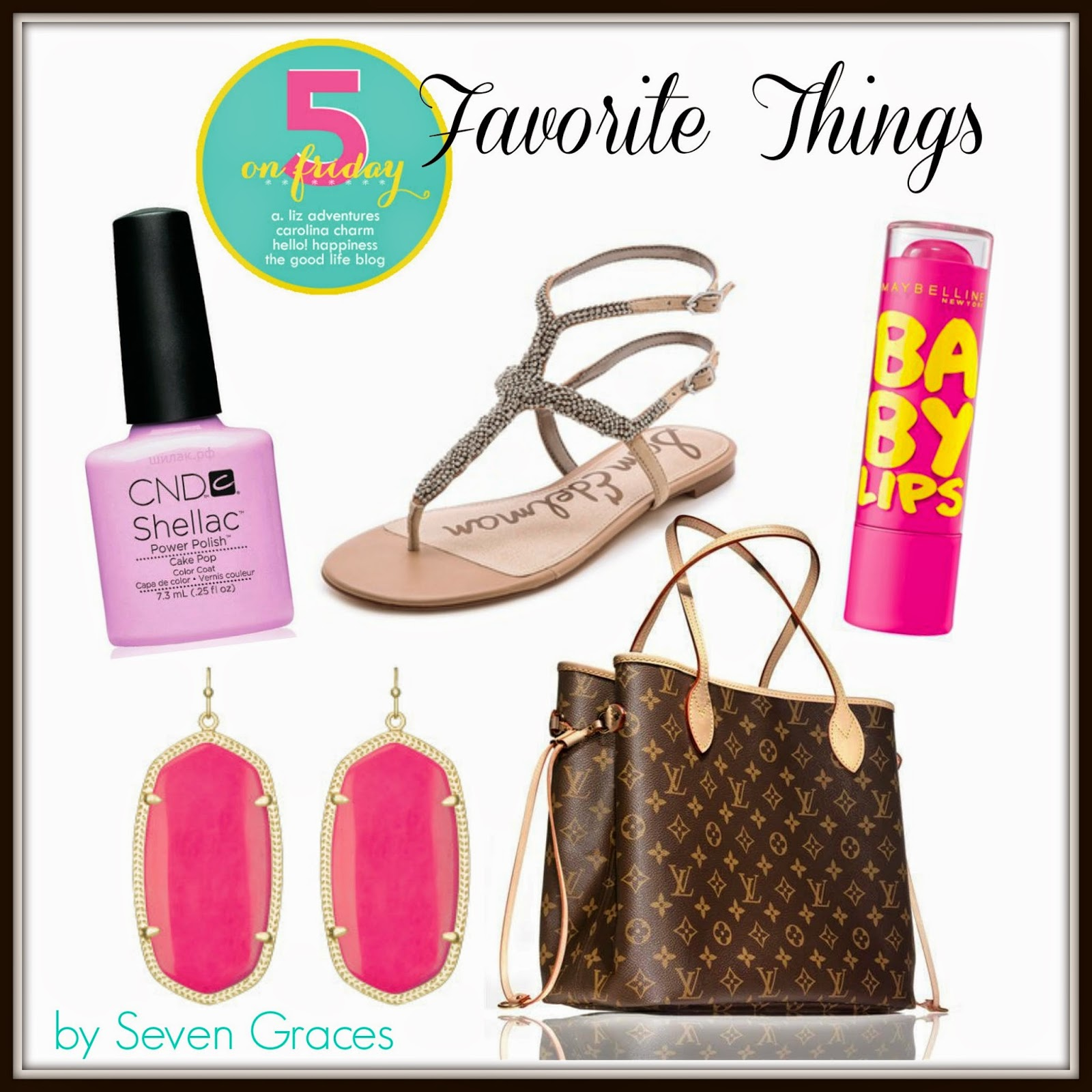 Five on Friday: Favorite Things…June Edition
