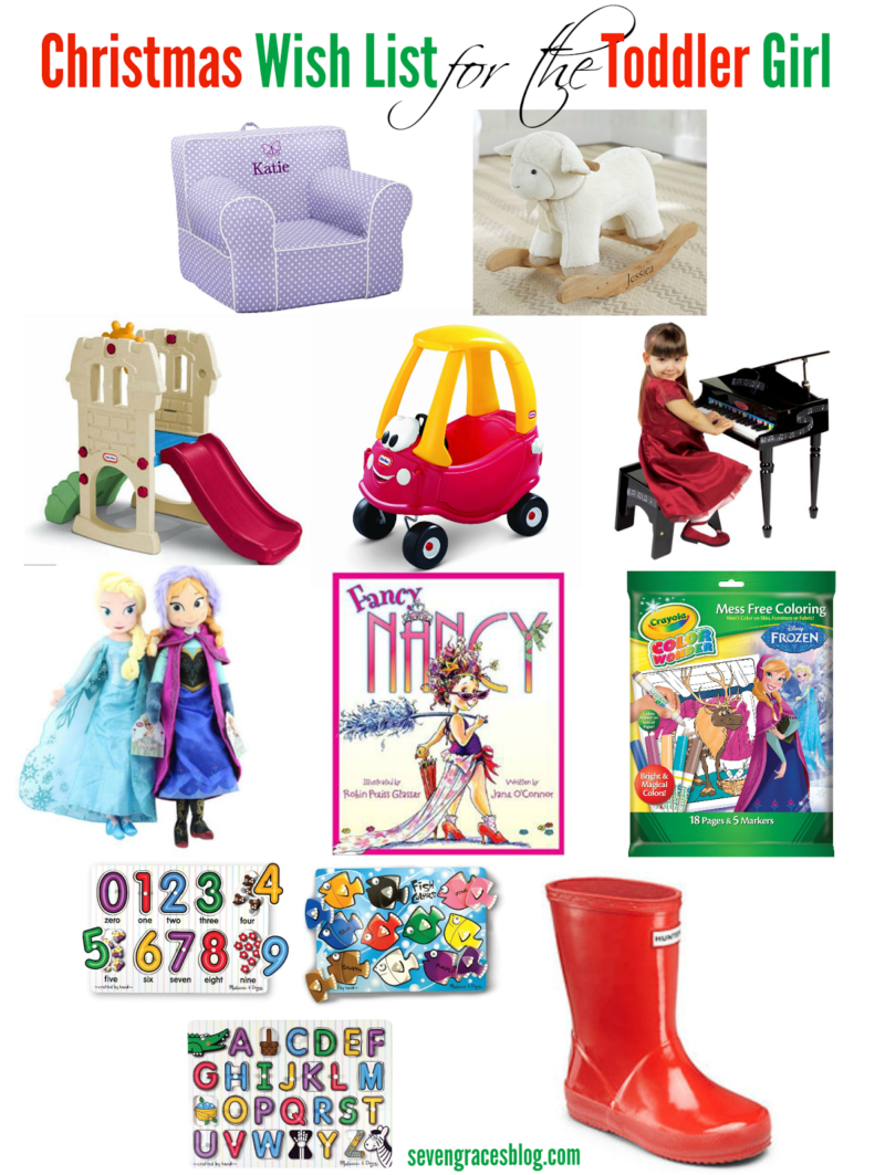 Presents Toys Christmas : Christmas wish list for the toddler seven graces