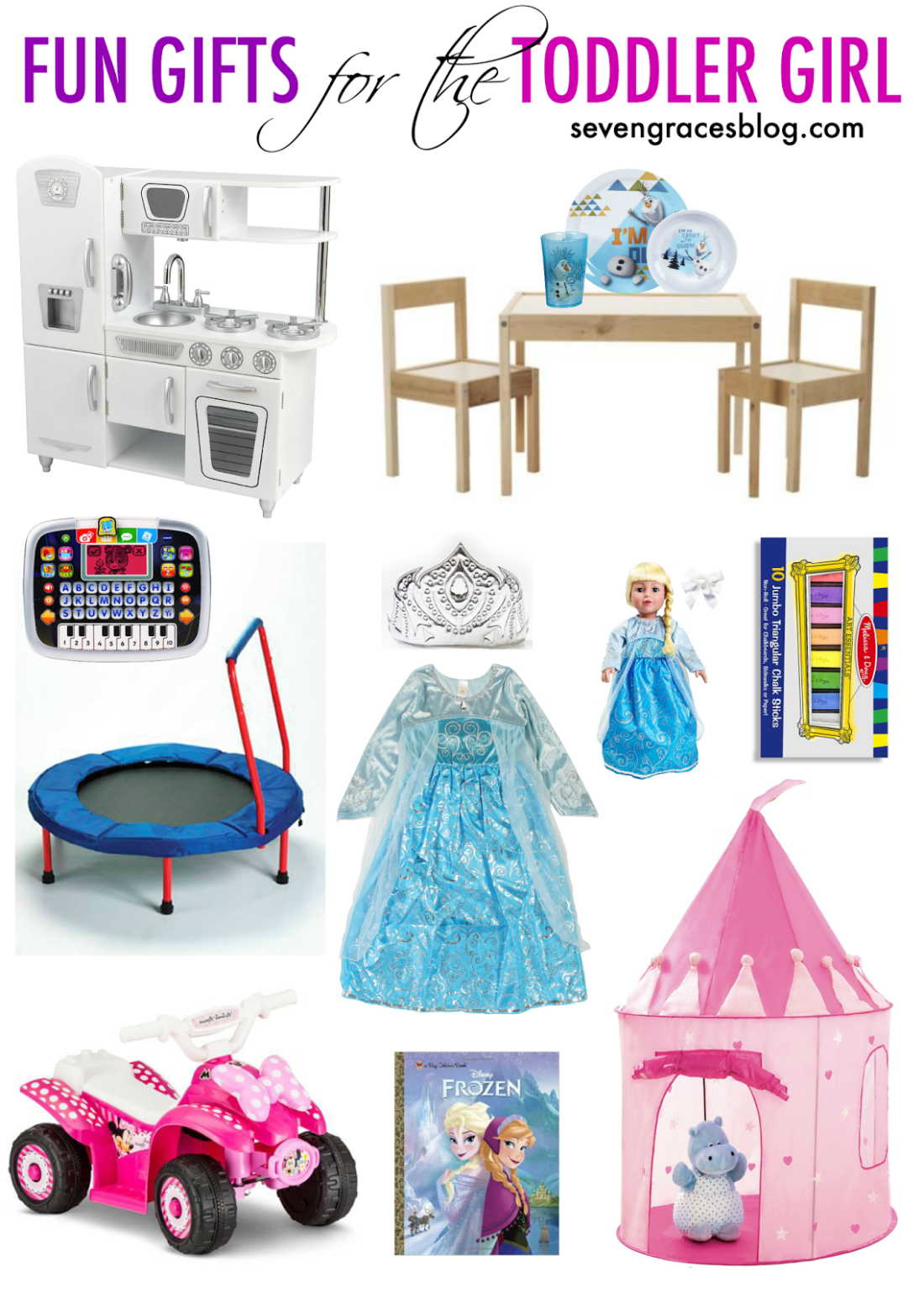 Fun Gifts For The Toddler Girl Seven Graces