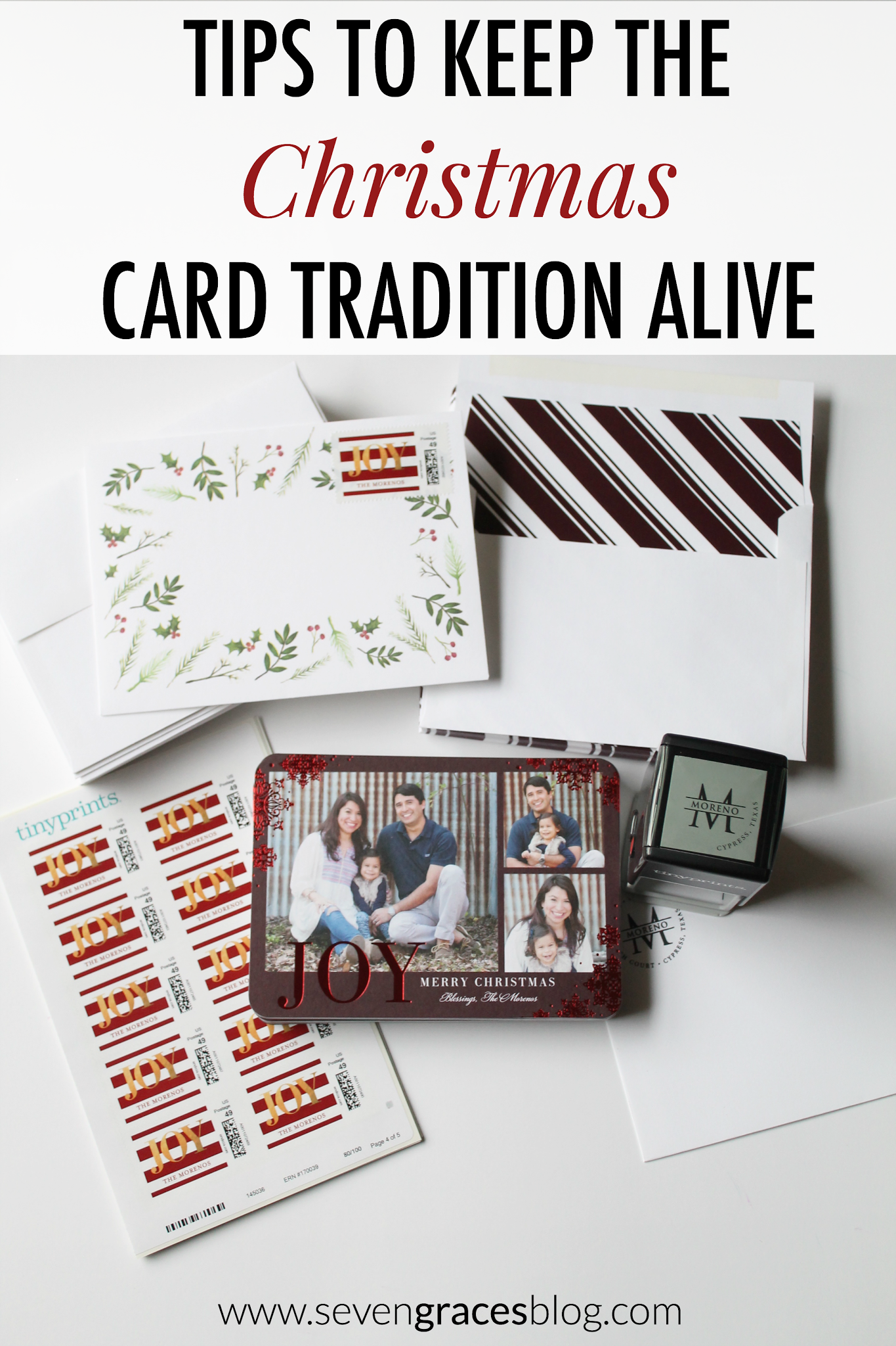 Tips to Keep the Christmas Card Tradition Alive: Our Christmas Card 2015