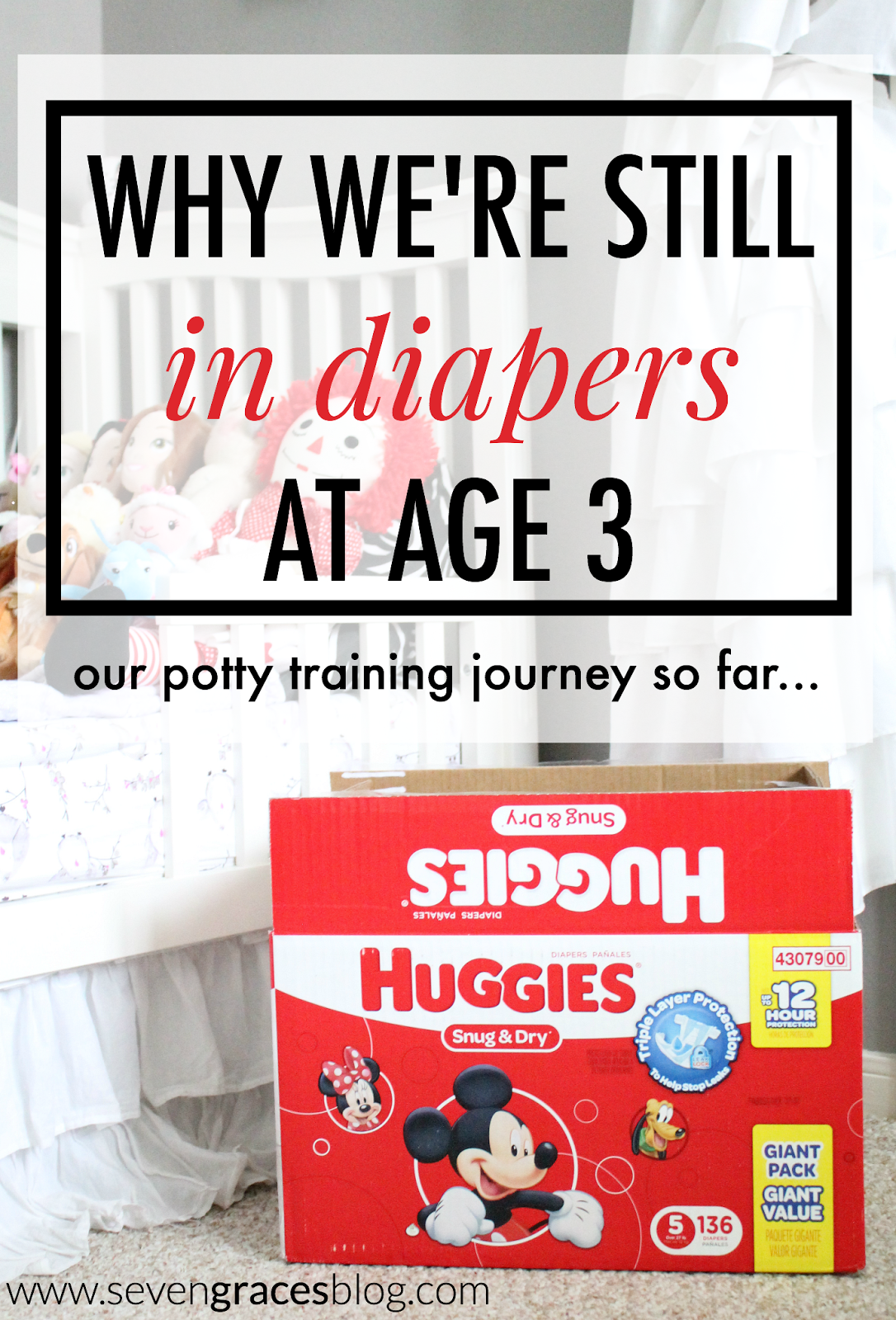 Why We're Still in Diapers at Age 3: Our Potty Training Journey So Far