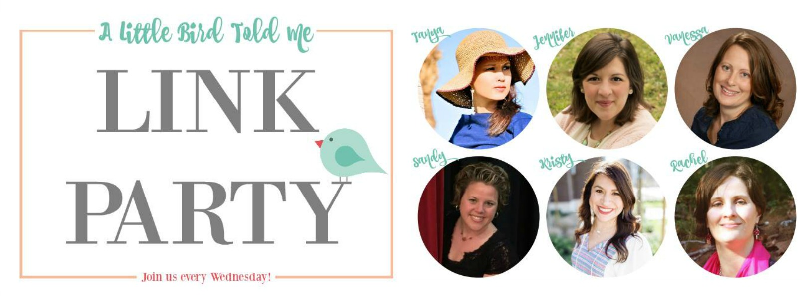 A Little Bird Told Me Weekly Link Party