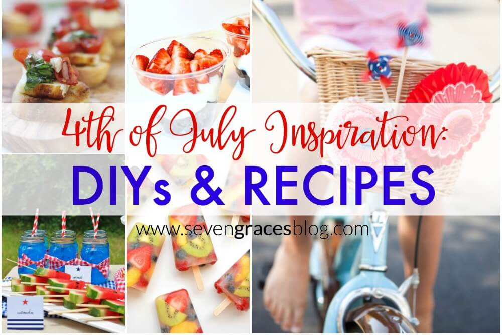 4th of July Inspiration: DIYs & Recipes / A Little Bird Told Me Link Party Vol. 6