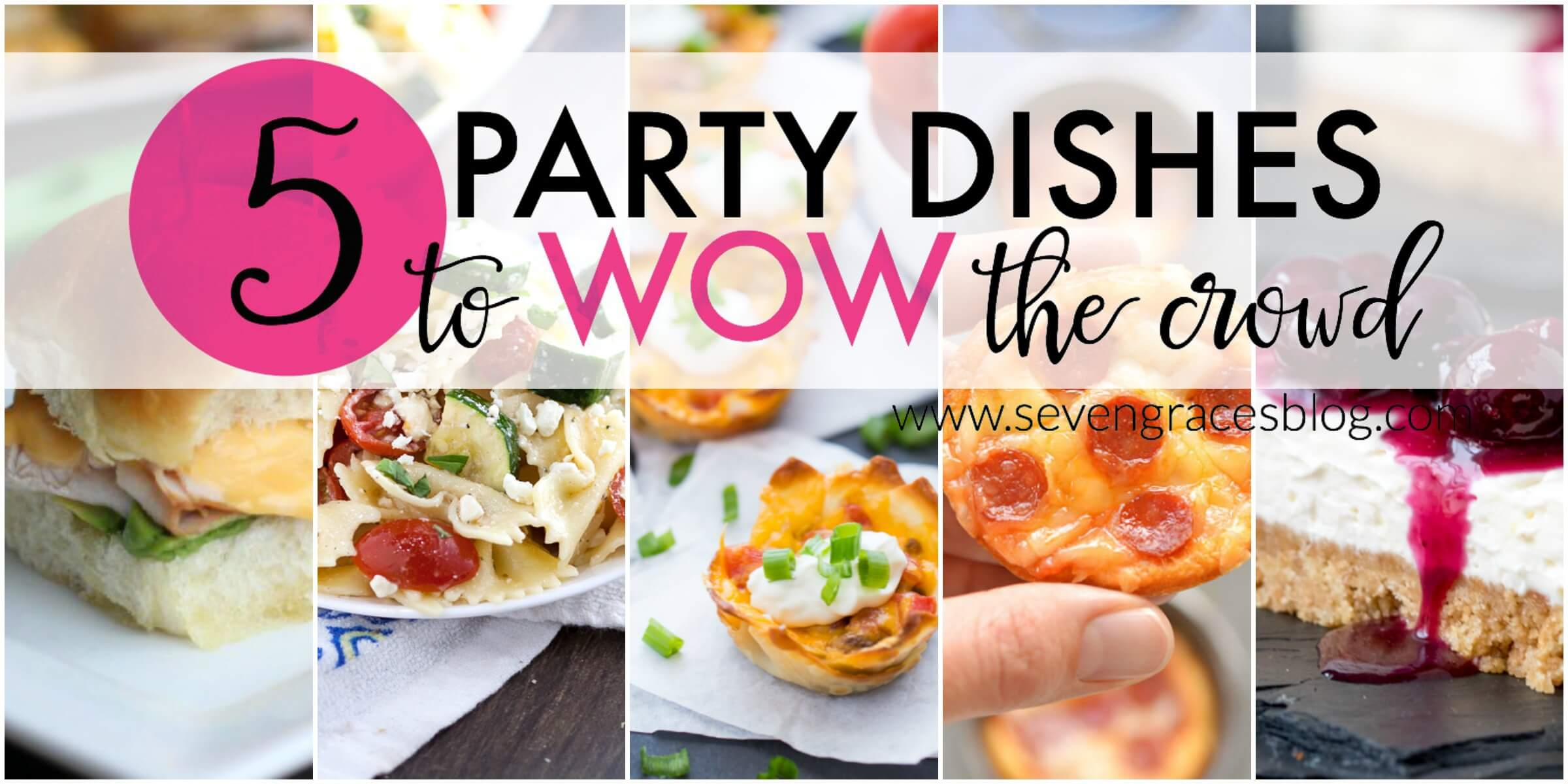 5 Party Dishes to Wow the Crowd: A Little Bird Told Me Link Party | Vol. 5
