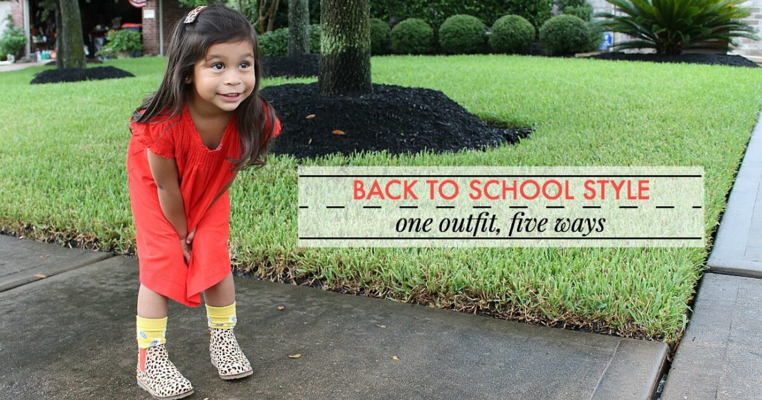 One Outfit, Five Ways: Back to School Style with Mini Boden | $750 Giveaway!