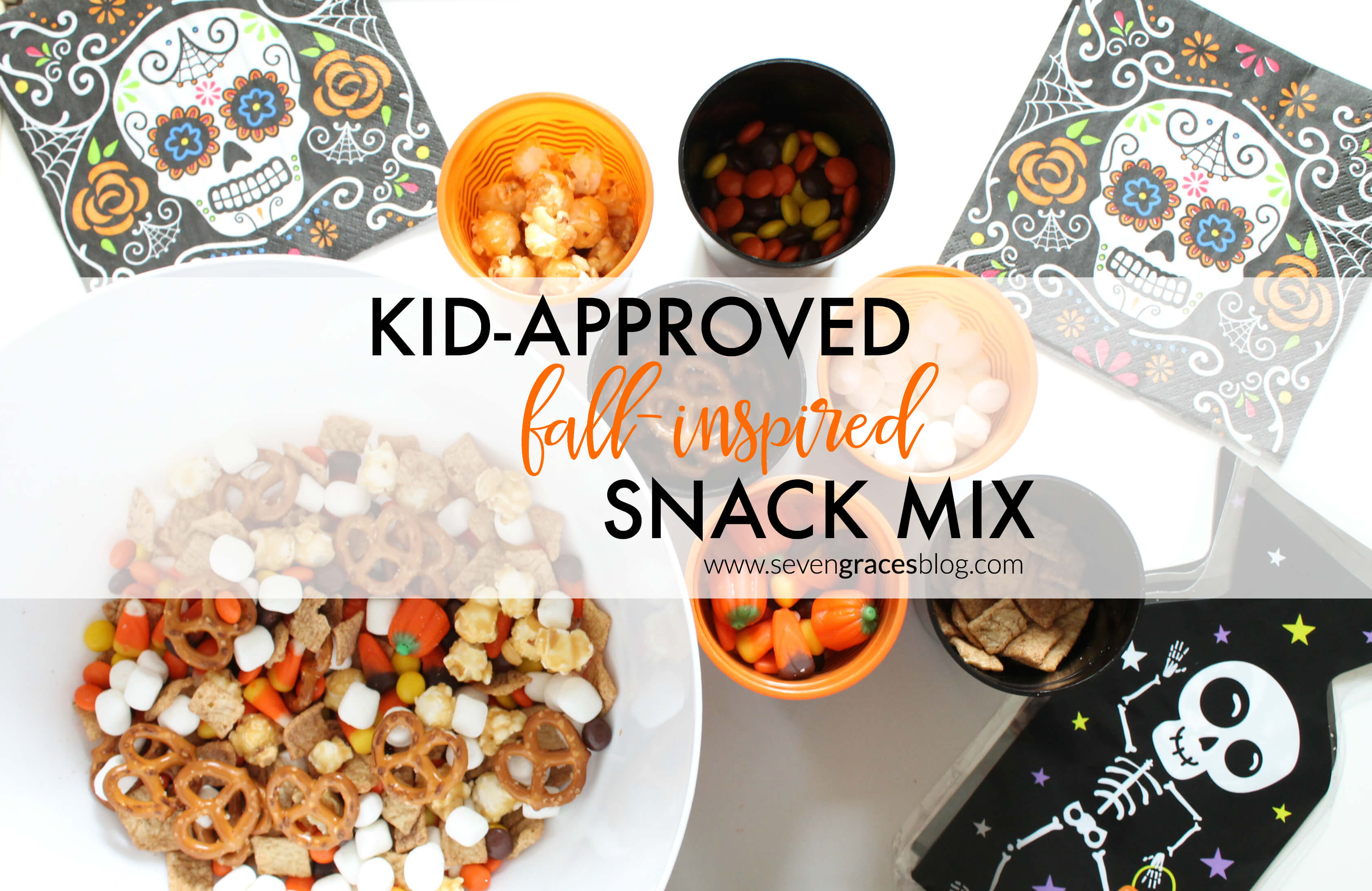 Observing Dia De Los Muertos: Kid-Approved, Fall-Inspired Snack Mix