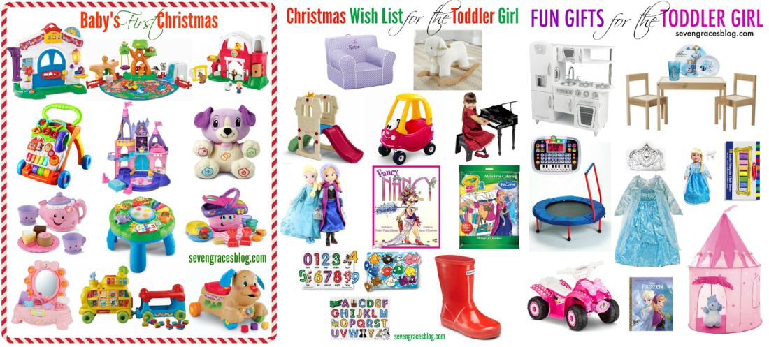 Gift Ideas For The Preschool Girl And For Baby's First