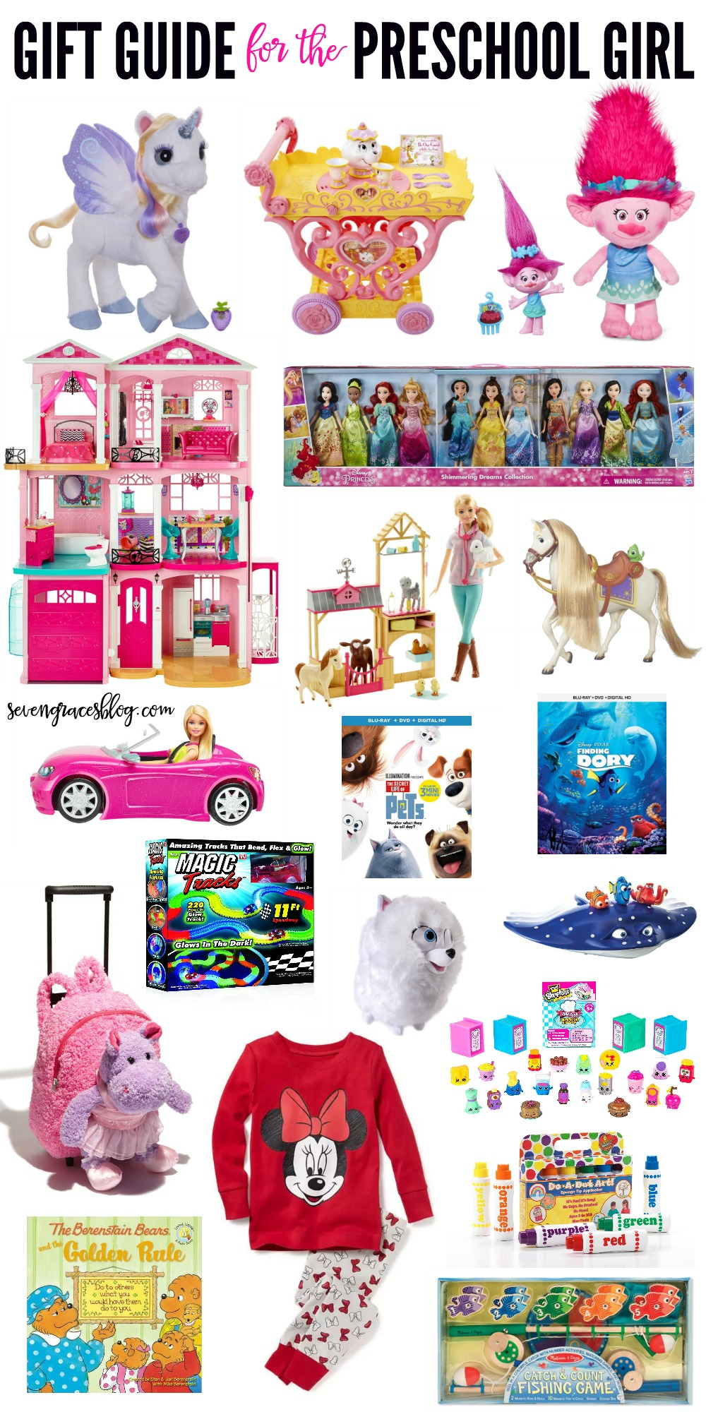 Gift Ideas for the Preschool Girl and for Baby's First ...