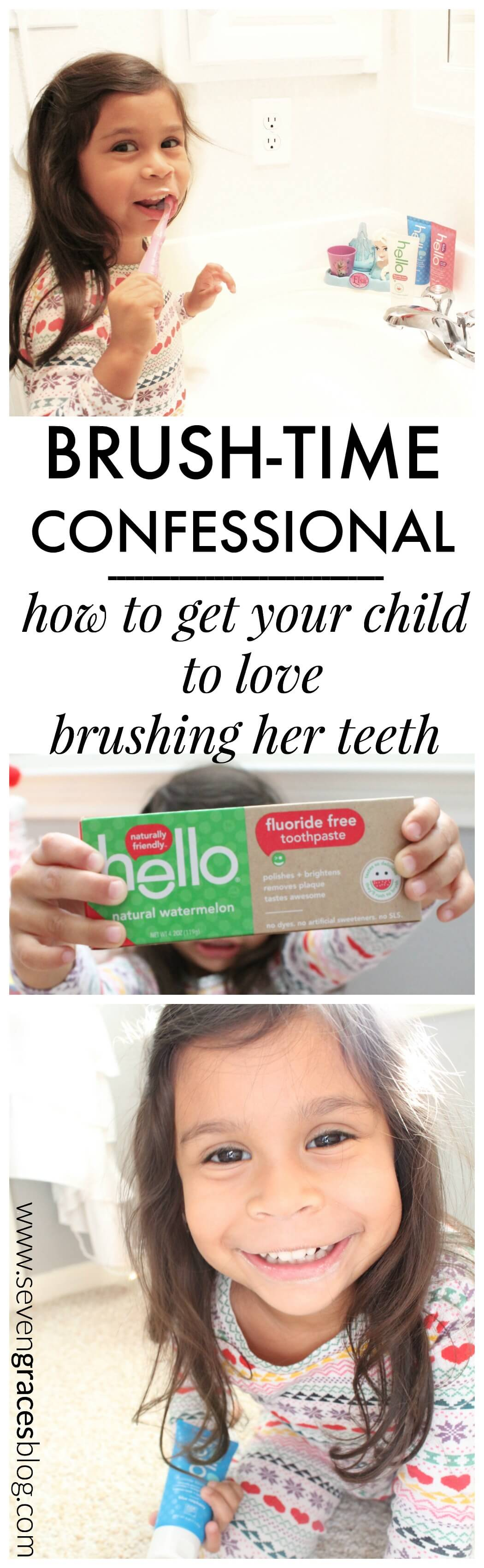 Brush-Time Confessional: How to Get Your Child to Love Brushing Her Teeth