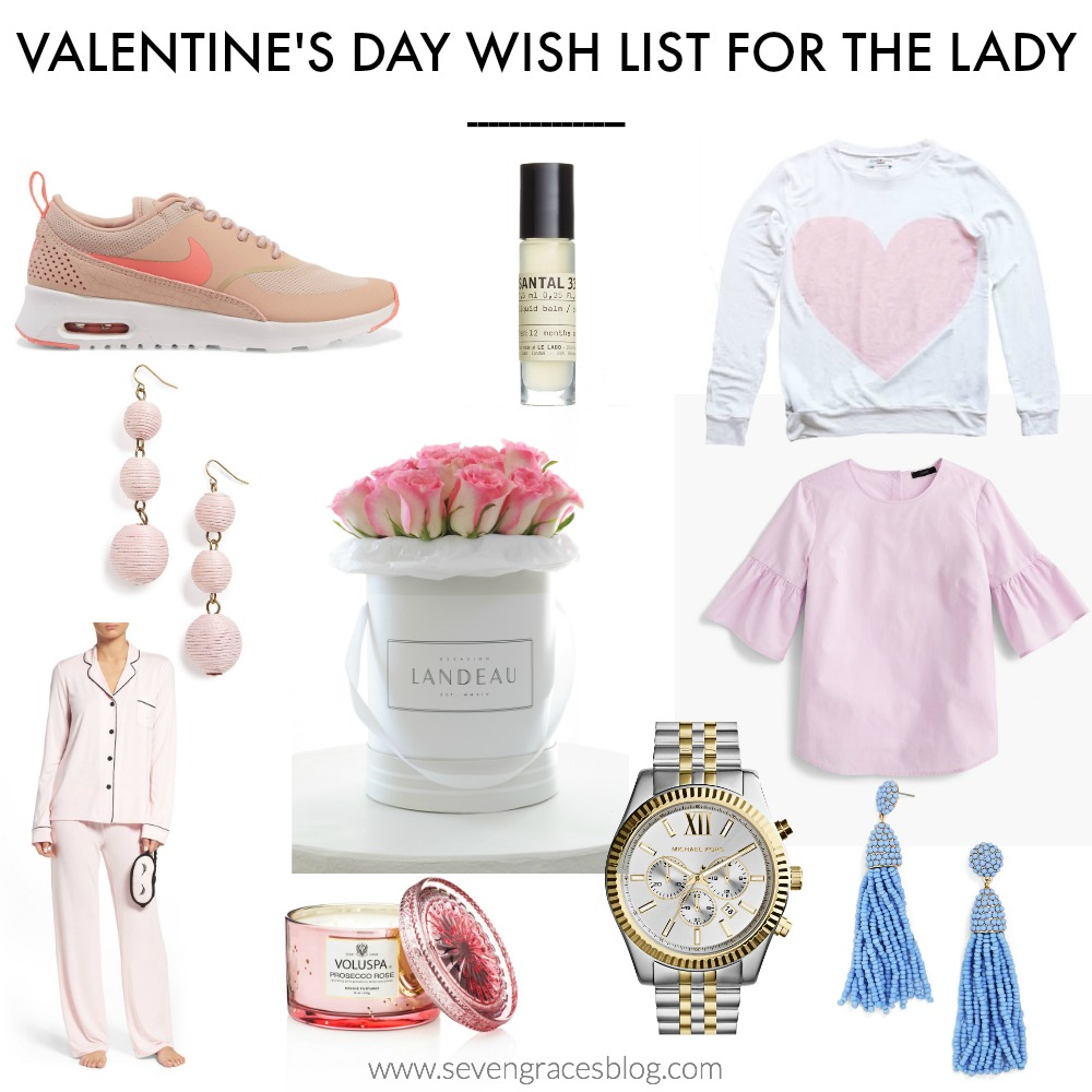 Valentine's Wish List for the Lady