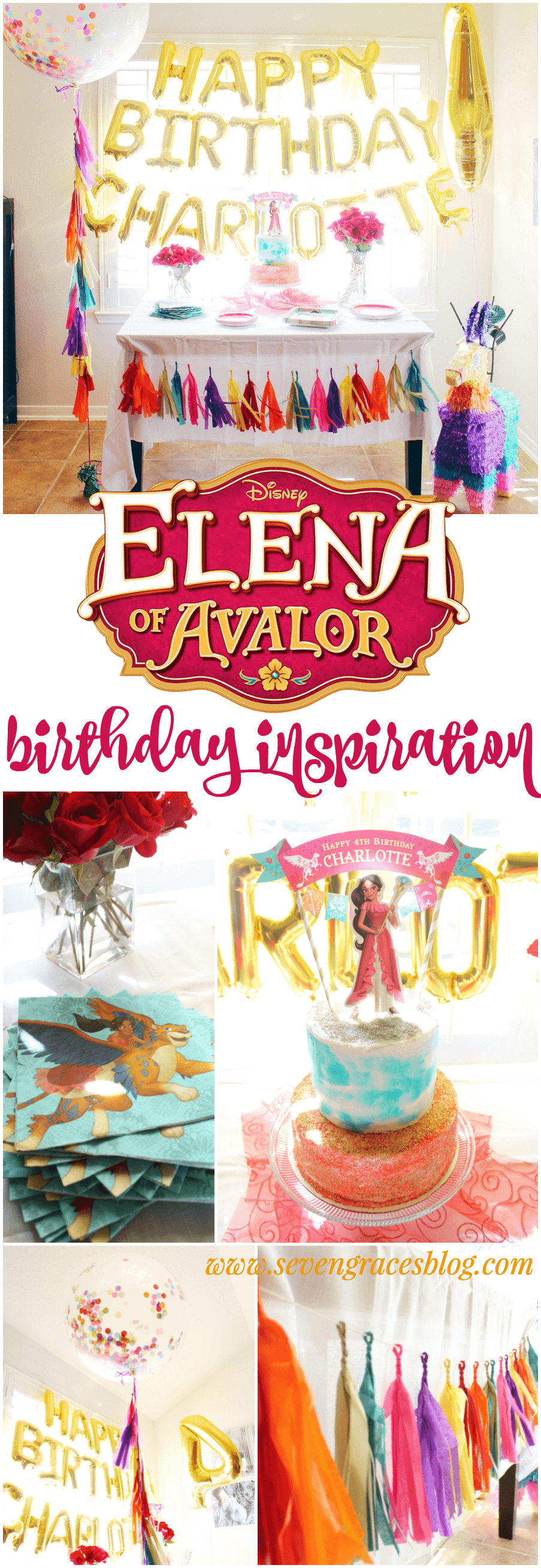 Elena of Avalor birthday party decor and inspiration. The cutest themed fiesta inspiration.