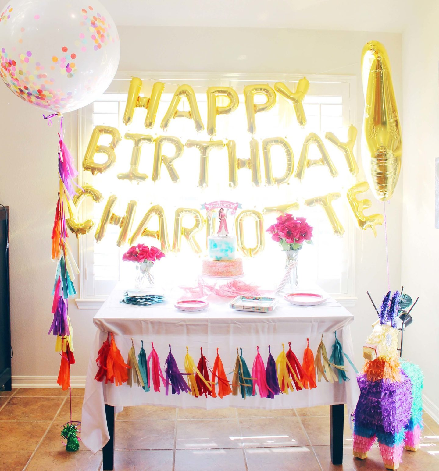 May The Fourth Be With You Party Supplies: Elena Of Avalor Birthday Inspiration: Charlotte's 4th