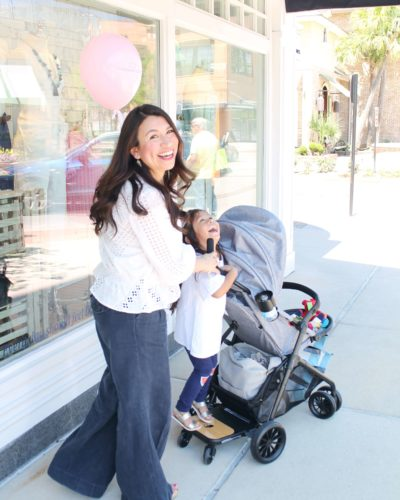 Stepping Into Spring: Evenflo Sibby Travel System Review