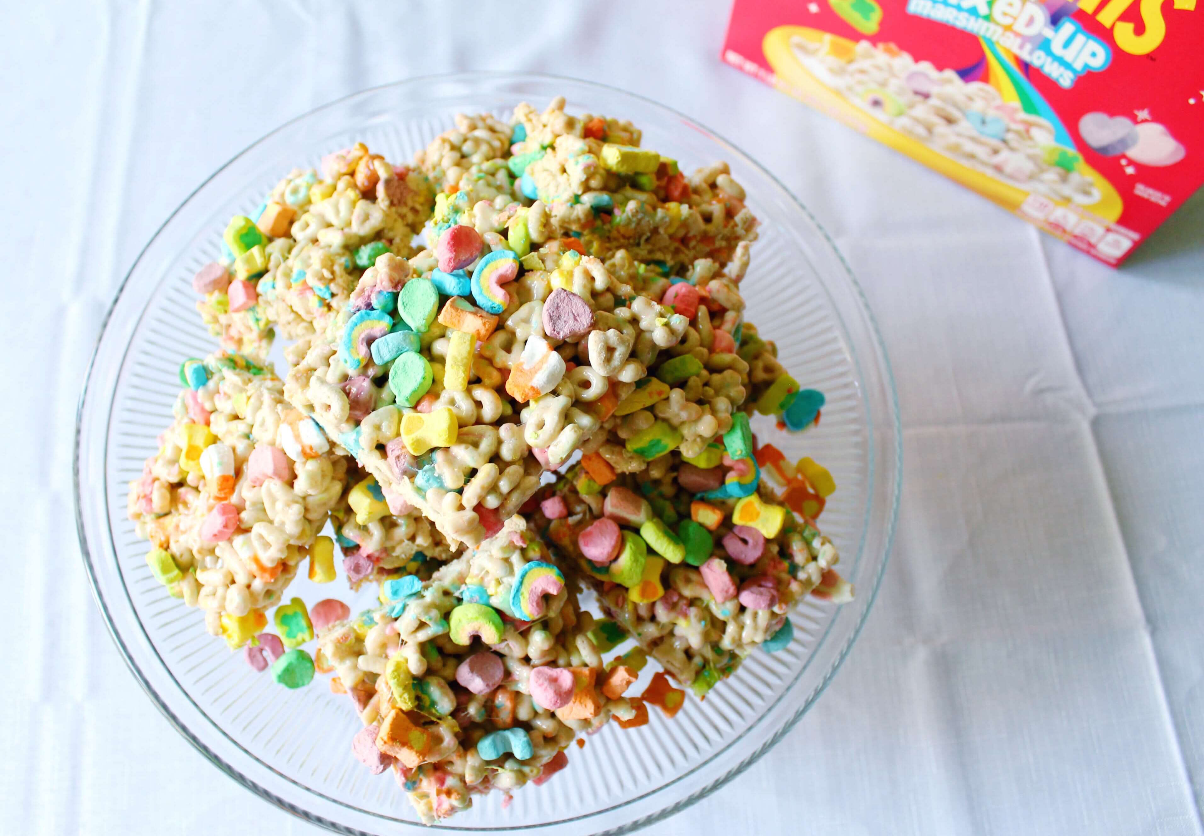 The best Lucky Charms Unicorn Treats.