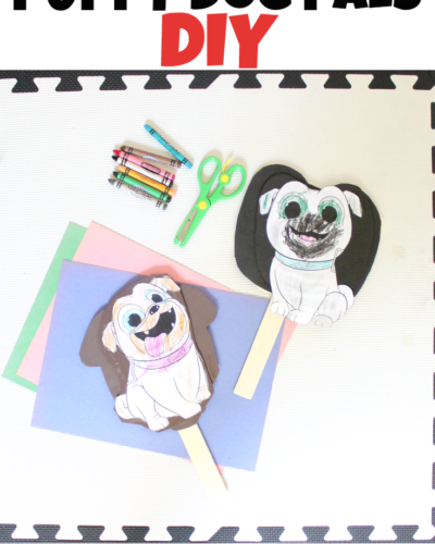 Summer Crafting: Disney Junior Puppy Dog Pals DIY