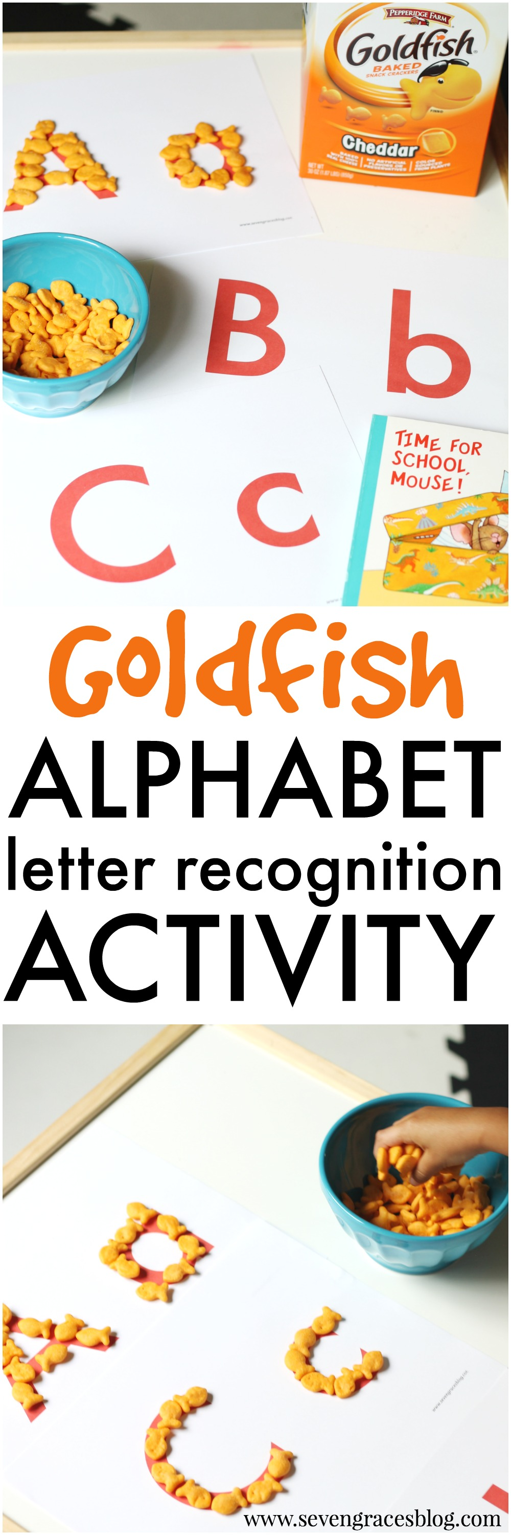 AfterSchool Letter Recognition Activity Snack Hack