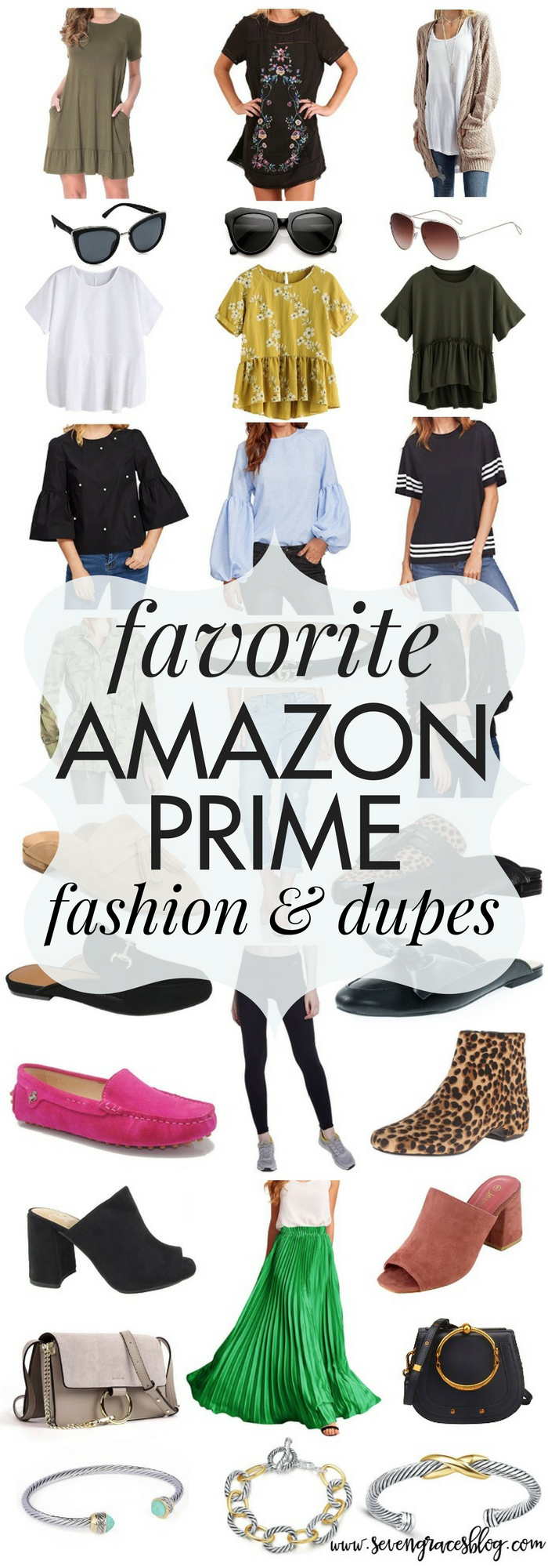 The ultimate Amazon Prime fashion picks for your closet. The best pieces to add to your closet from Amazon and the best dupes you can find! You don't want to miss this!