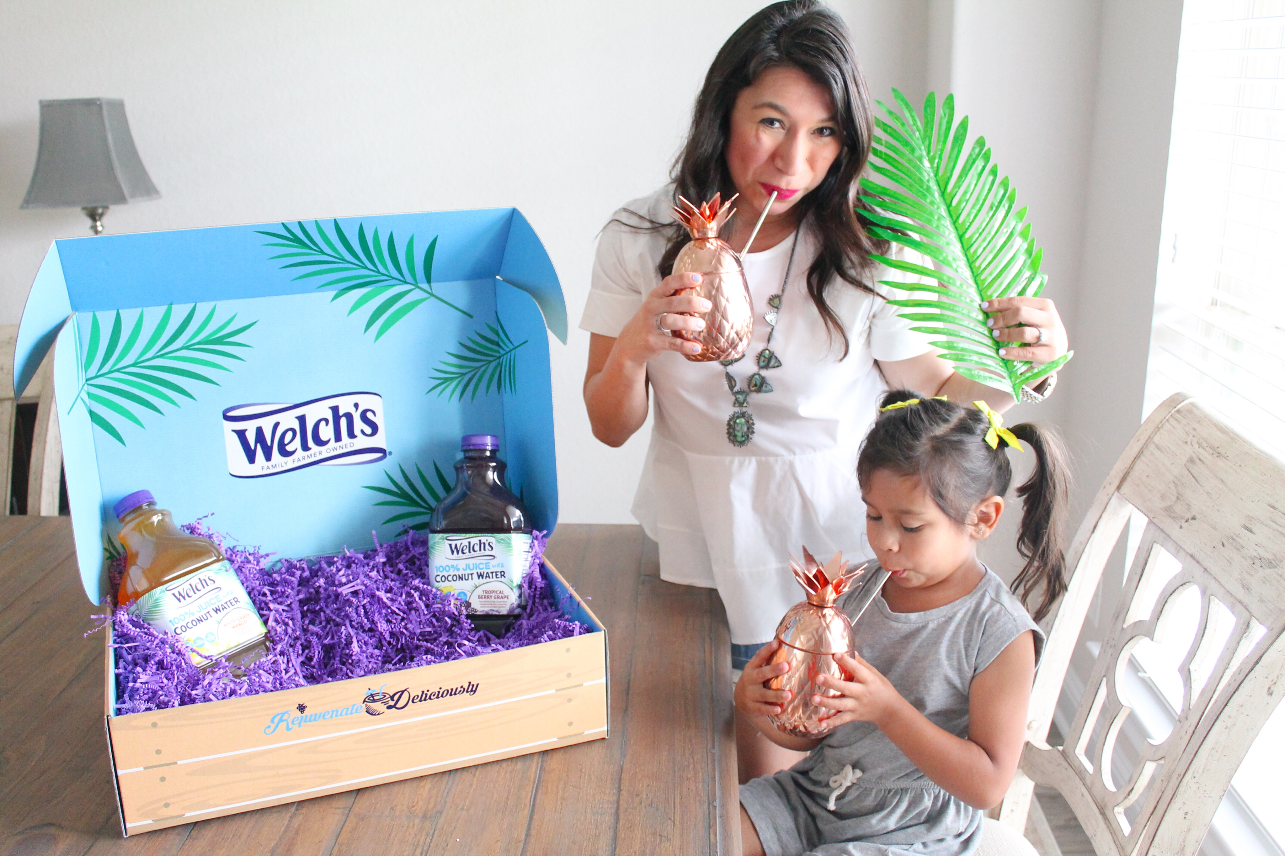 If you need some help in the chill department, here are 5 ways to not take motherhood so seriously. Sponsored by Welch's new 100% juice with Coconut Water. #welchs #motherhood #coconut water