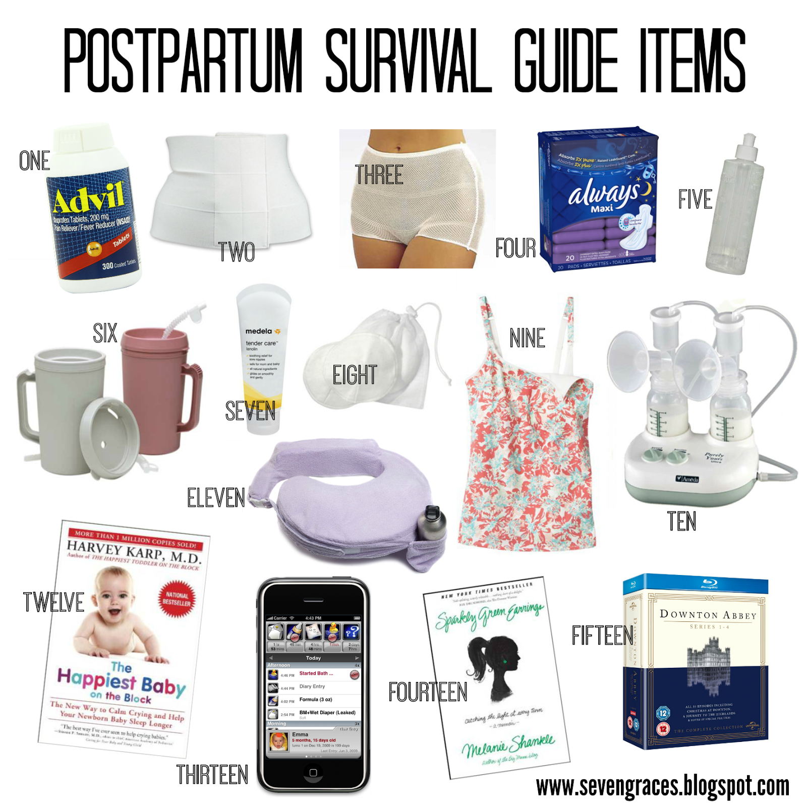 Amazon Travel Items Postpartum Survival Guide C Section Recovery