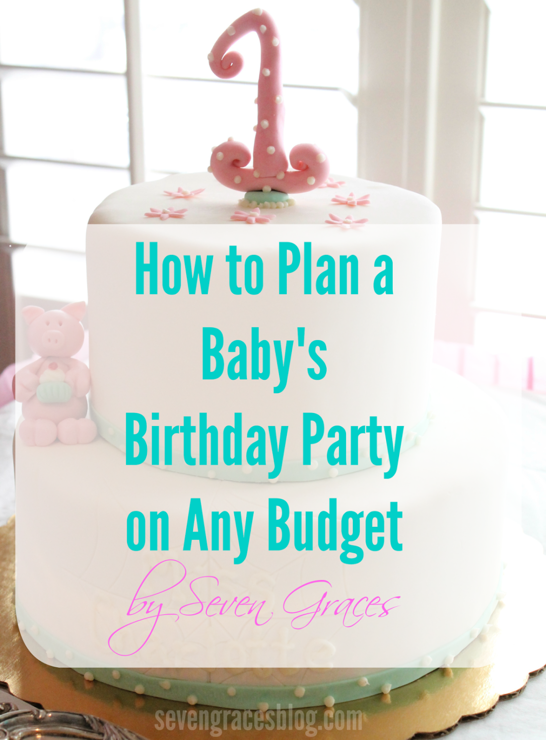 How To Plan A Babys Birthday Party On Any Budget Seven Graces