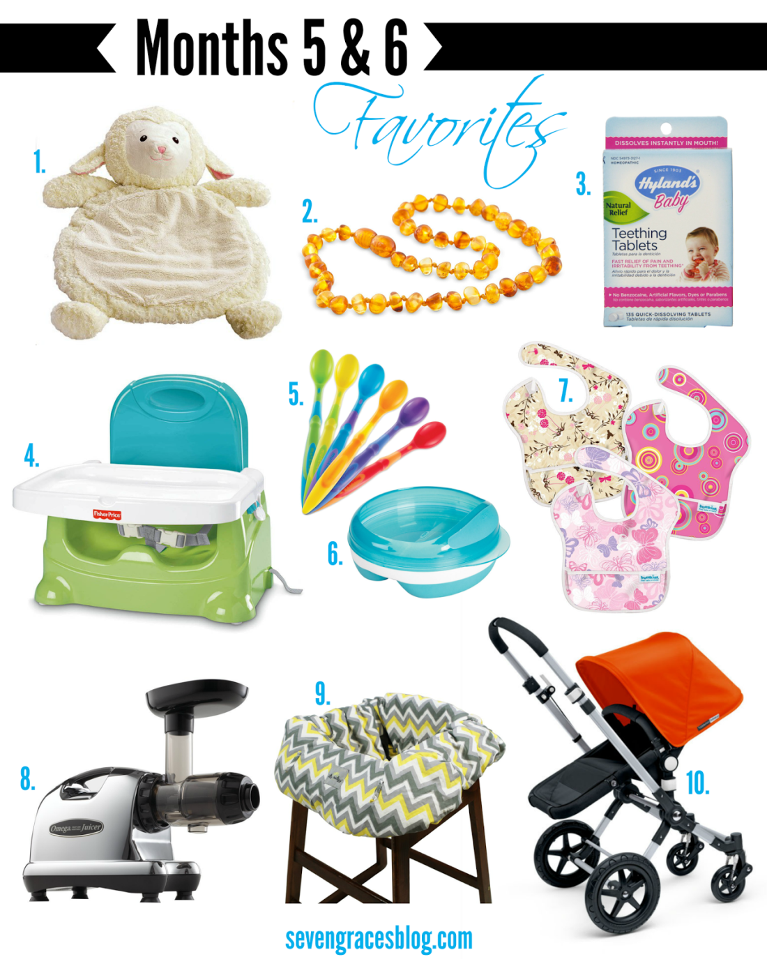 Top 10 Baby Items for Months 5 & 6: Teething & Feeding ...