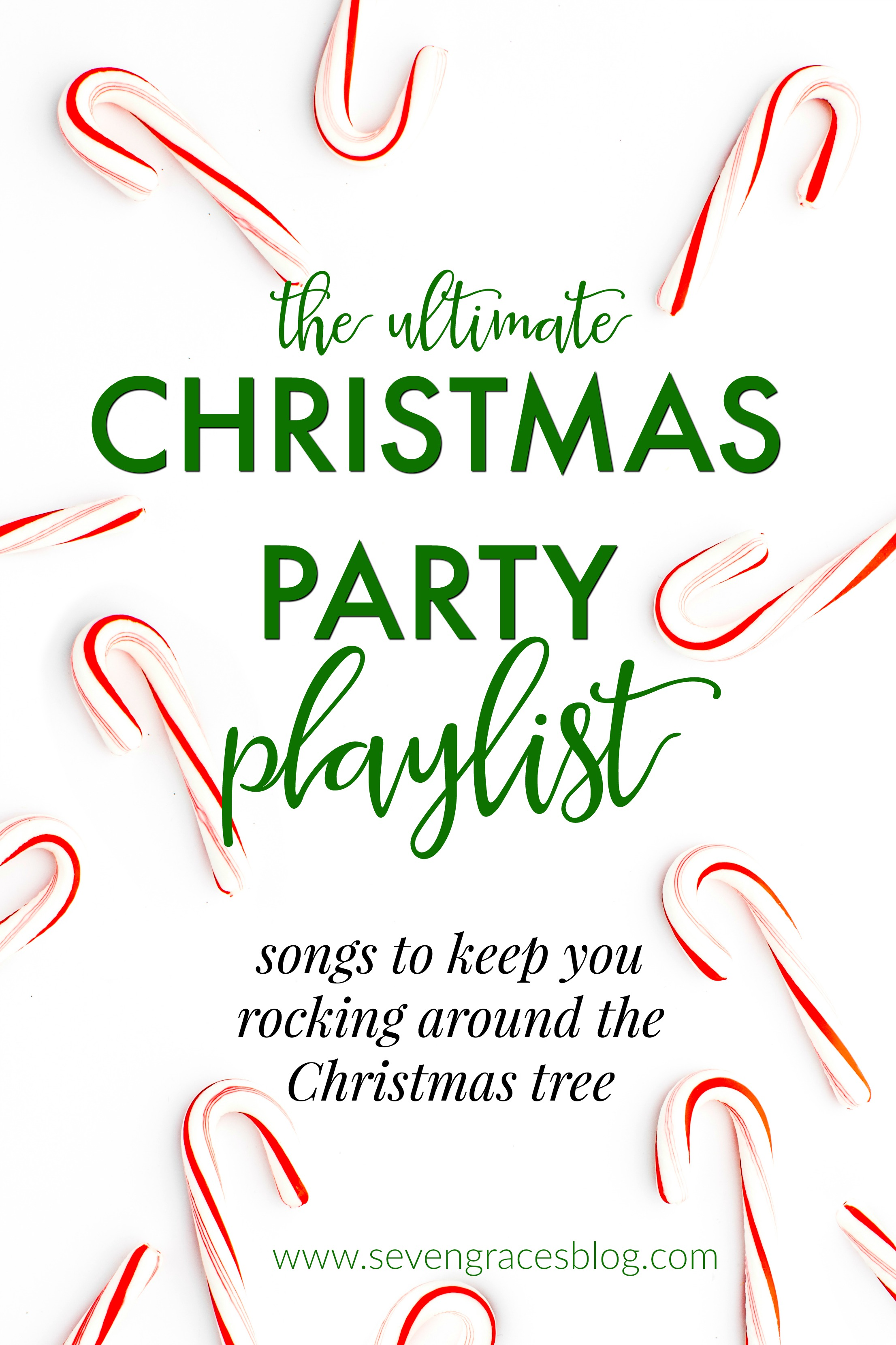 Christmas Favorites & The Best Christmas Playlist Ever! - Seven Graces
