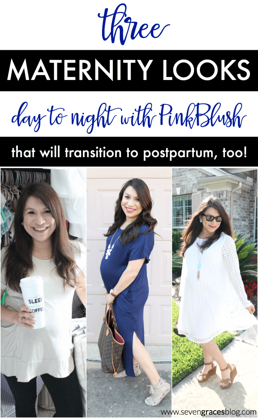 Three Maternity Looks Day To Night With Pinkblush Maternity