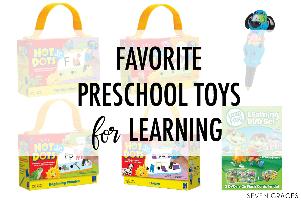 Best Preschool Toys and Games for Learning