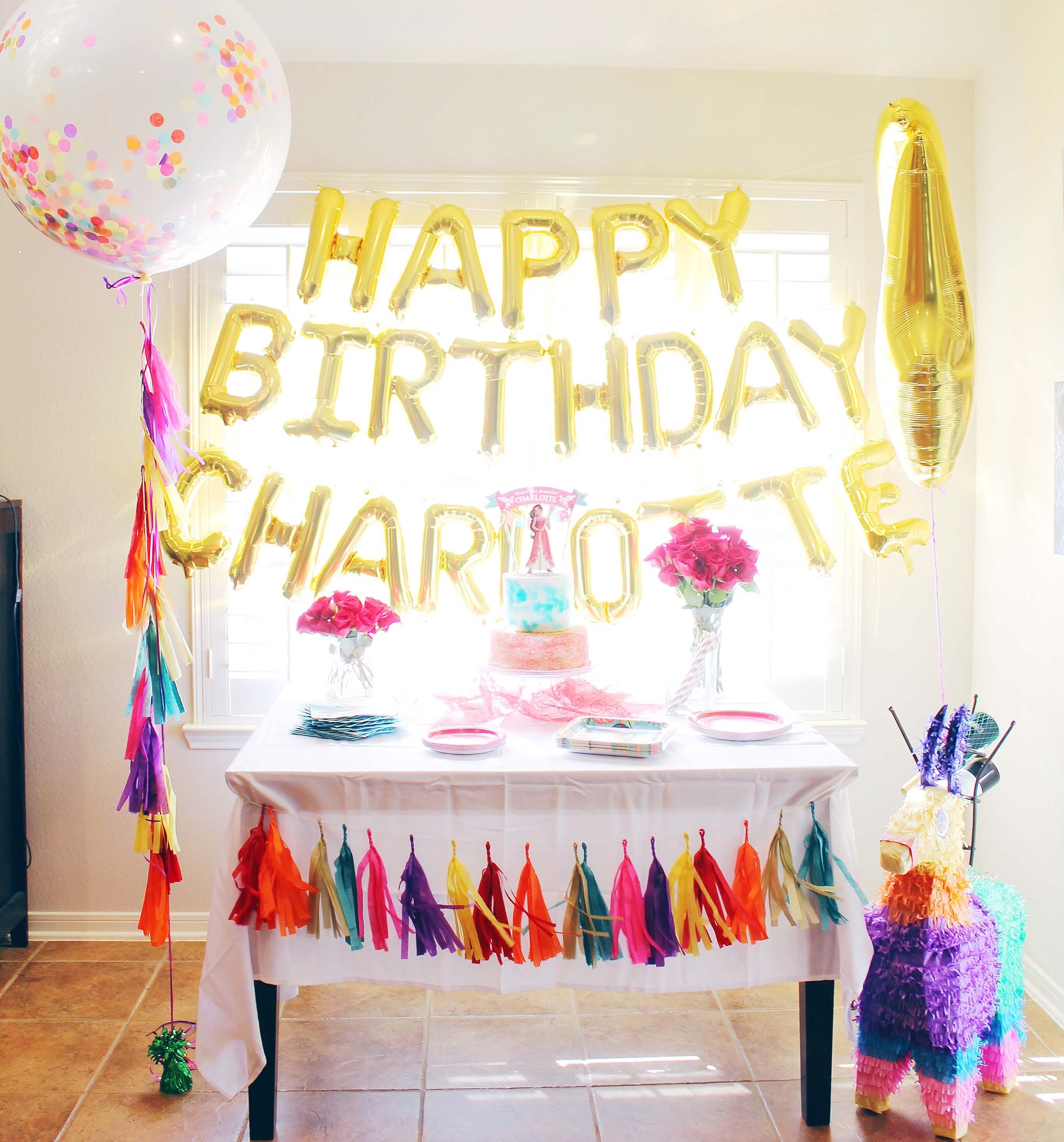 Tips For Hosting A Simple Birthday Party