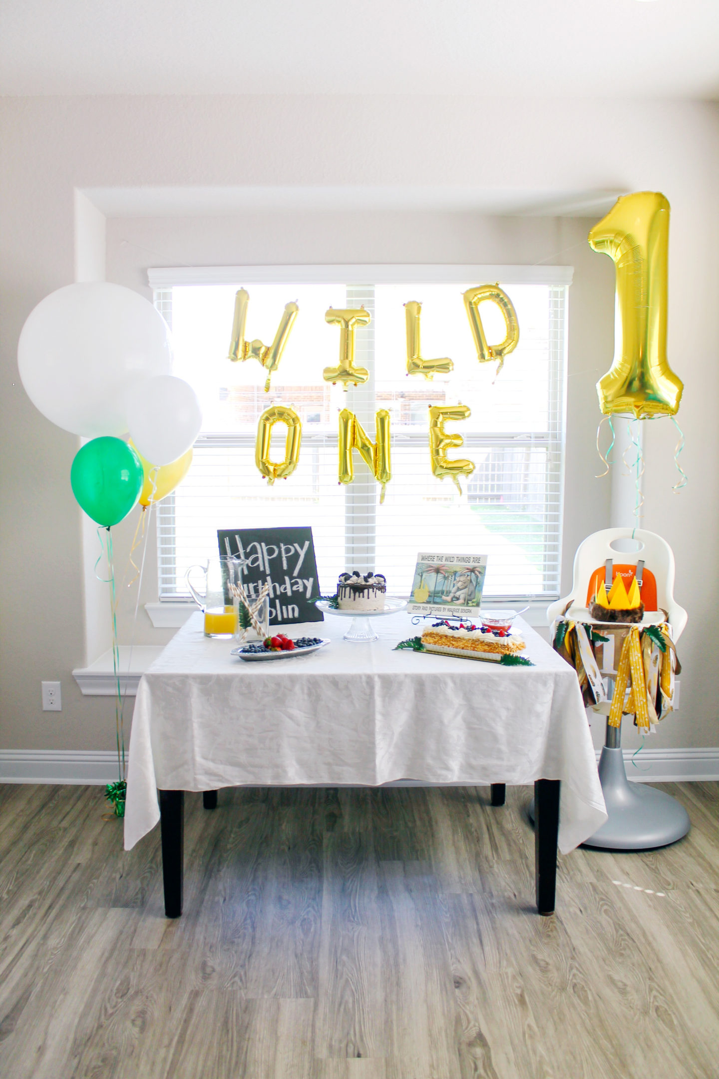 Colin's Easy DIY Where the Wild Things Are First Birthday ...